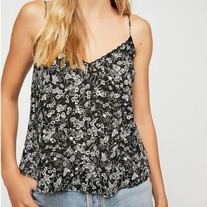 Intimately Free People Kora Print Cami Camisole L